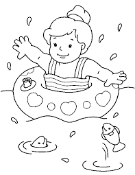 Free Printable 36 Summer Coloring Pages Summertime Coloring Pages