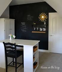 chalkboard office. How To Make A Chalkboard Wall In Your Home Office Craft Room, Paint, I