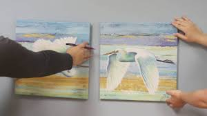 how to hang canvas artwork