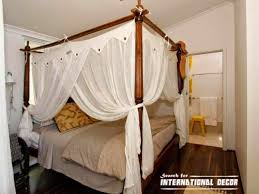Enhance Your Fours Poster Bed With Canopy Bed Curtains. View Larger