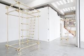 contemporary furniture. Gold Pipe Furniture By Daisuke Motogi Architects © Takashi Fujikawa Contemporary