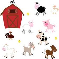 baby farm animals clip art. Modren Art Farm Animals Clip Art Clipart Barnyard Clipart   Commercial And Personal Throughout Baby I