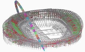 Football Stadium Design Software Wembley Stadium An Arching Ambition Tekla
