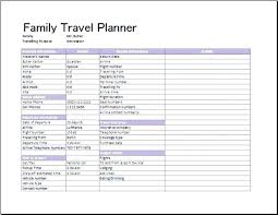 Sample Itinerary Forms Travel Itinerary Template Doc Document Amadeus Glotro Co