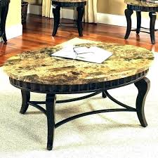round granite top coffee table end outdoor singapore