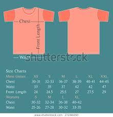 Vector Blank T Shirt Design Template Stock Vector Royalty