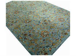 bashian rugs wilshire rectangular aqua area rug