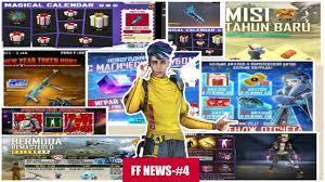 FF NEWS- #4 || WORLD'S FREEFIRE SERVER NEWS || GARENA-FREEFIRE || ST  GAMERISLIVE |