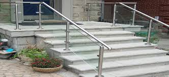 glass railing stair review
