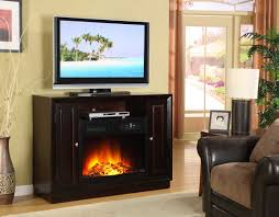 homelegance aruba tv stand with electric fireplace