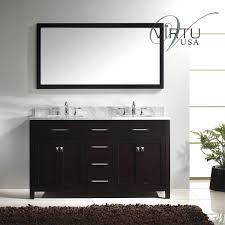 60 Inch Single Sink Vanity Cabinet Virtu Caroline 60 Inch Double Sink Bathroom Vanity Cabinet Bathroom