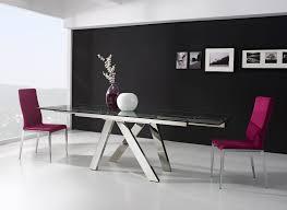 Moderner Esstisch Tree Aus Stahl Und Glas Dekoration Beltran Ihr