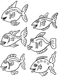 F Is For Fish Coloring Page F Is For Fish Coloring Page Printable