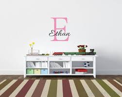 customised name wall decal for children