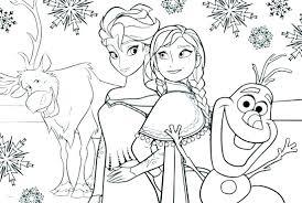 Coloring Pages Frozen Printable Princess Printables