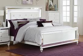 Led Bedroom Furniture Homelegance Alonza Bedroom Set With Led Lighting Brilliant White