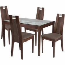 Glass top dining sets Small Space Menu Ubuyfurniturecom Glass Top Dining Sets