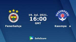 Fenerbahçe Kasımpaşa Live Ticker und Live Stream - SofaScore