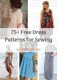 Dress Patterns Inspiration 48 Free Dress Patterns For Sewing AllFreeSewing