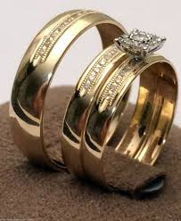 Wedding Band Sets For Him And Her