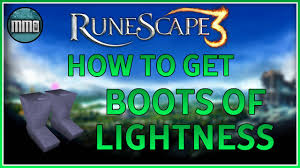Runescape 3 How To Get Boots Of Lightness Guide 2016