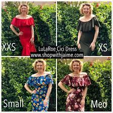 New Lularoe Cici Dress Sizing Chart Size Chart How To