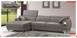 Ravishing living room furniture arrangement ideas simple Kitchen Chicgreyleathersofagreywithdeepsectional Islandbluescom Furniture Immaculate Grey Leather Sofa For Modern Living Room