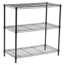 amazing adjule wire shelving 3 tier wide black room essential target unit for closet system home