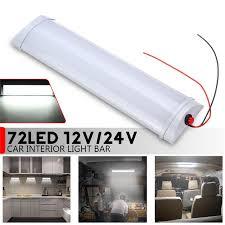 72 led 10w car interior led light