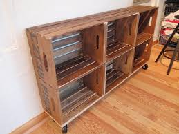 diy vintage crate shelving unit add crates to the top