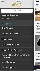 ky3 news screenshot