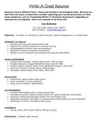 Resume Examples Just Out Of College Best Of Job Resume Example ...