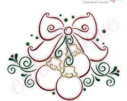 Simple Christmas Holly Embroidery Design Small Instant Etsy