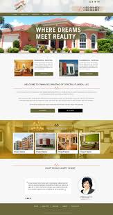 web design by tanvir for pinnacle painting of central florida llc start up