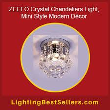 zeefo crystal chandelier light
