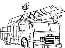 Coloring Pages Trucks Fire Truck Pictures To Color Together With