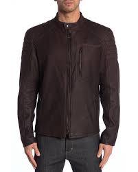 belstaff multicolor wittering blouson genuine leather jacket for men lyst