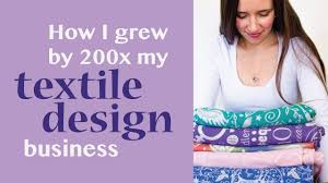 How To Be A Freelance Textile Designer How I Grew My Textile Design Business By 200x In 2 Years