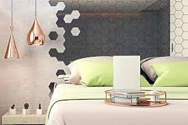 hexagon wall mirror hexagonal wall mirrors hexagon mirror wall decal hexagon wall mirror