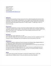 Driving Resume Sample Resume Cover Letter Sample Driver Format In