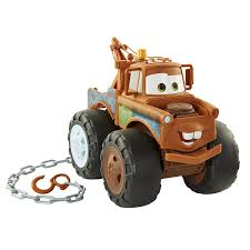 Amazon.com: Disney Pixar Cars 3 Tow Mater Truck - Push and Pull Up ...