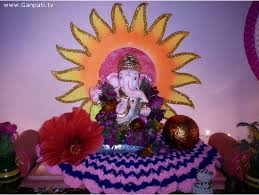 home decorating ideas for ganesh chaturthi pictures