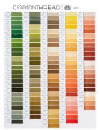 Dmc Color Chart 2017 15 Competent Dmc Floss Color List