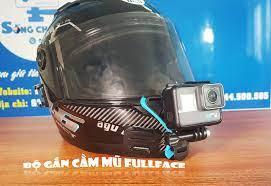 Dây Đeo Action Camera, GoPro Vào Cằm Mũ Bảo Hiểm Fullface -