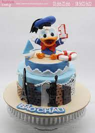 Bánh sinh nhật vịt Donal đáng yêu tặng sinh nhật bé 6209 - Bánh sinh nhật,  kỷ niệm