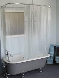 clawfoot bathtub shower curtain avarii org home design best ideas