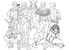 Free Printable Avengers Coloring Pages Az Coloring Pages Free