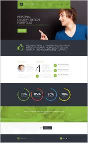 Fresh Idea To Personal Website Template 344396 Resume Ideas