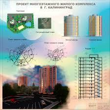 Проект жилого комплекса примеры строительства Чертежи РУ Курсовой проект Жилой комплекс из двух 12 ти этажных односекционных домов в г