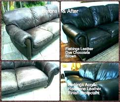 refurbishing leather couch refinish leather couch how to re leather couch how to re a leather